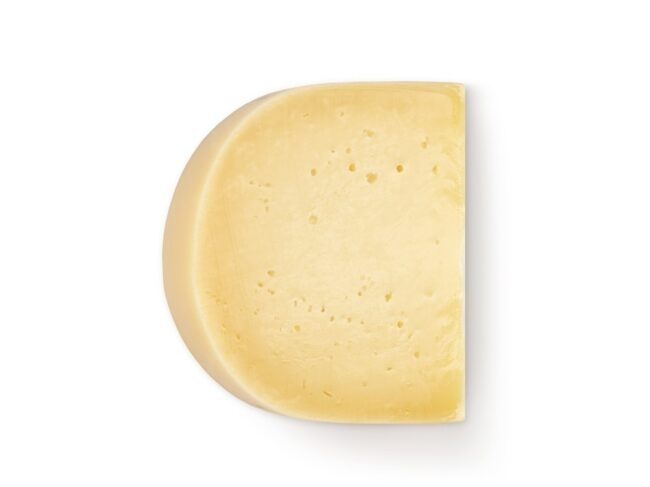 Ekološki kmečki poltrdi sir